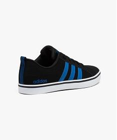 Gemo chaussures baskets en cuir noires et bleues - adidas neo noir ...